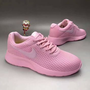 """NIKE"" Fashion Casual Stitching Breathable Net Ultra-light Sneakers Women Running Shoe"