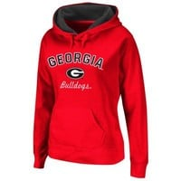 Georgia Bulldogs Women's Titan Hoodie - Red
