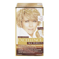 L'Oreal Paris Hair Color Excellence Age Perfect Layered-Tone Flattering Color Dye, Light Natural Blonde