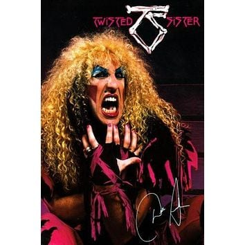 Twisted Sister poster Metal Sign Wall Art 8in x 12in
