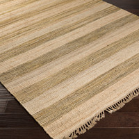 Claire Area Rug | Gold Natural Fiber and Texture Rugs Hand Woven | Style CLR4006