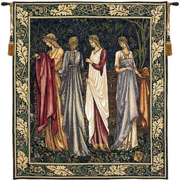 The Ladies of Camelot Les Dames de Camelot French Tapestry