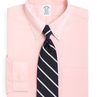 Supima® Cotton Non-Iron Slim Fit Button-Down Dress Shirt - Brooks Brothers