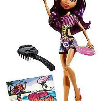 Monster High Gloom Beach Clawdeen Wolf Doll