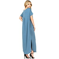 Chill Weekend Maxi Dress