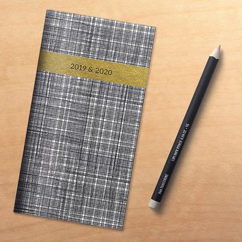 Black, White and Gold Planner