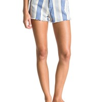Stripy Eighty High-Waisted Printed Shorts ERJDS03043 - Roxy