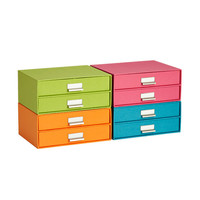 Bright Stockholm Paper Drawers