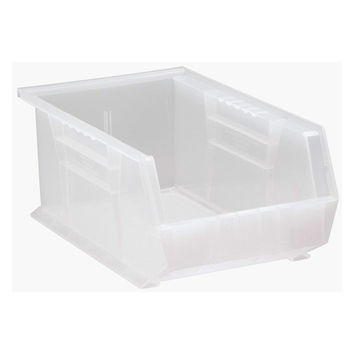 Storage Bins, Stack and Hang Ultra 14 x 8 x 6 CLEAR, 12 Pack [Misc.]