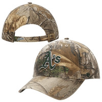 Oakland Athletics '47 Brand Tonal Clean Up Adjustable Hat – Realtree Camo