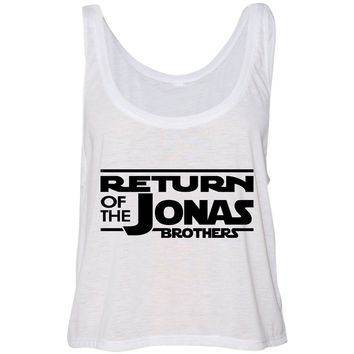 Return of the Jonas Brothers Cropped Tank Top