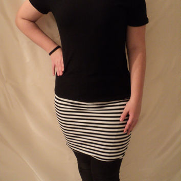 MJCREATION tunic or striped dress all size made to ordrer