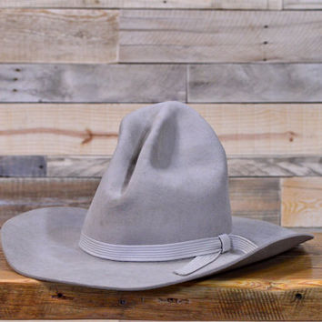 Vintage Western Cowboy Hat, Bailey Regal Hat, Western Decor, Cowboy Decor