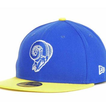 """LA Rams """"On The Field"""" Fitted Hat - Youth"""