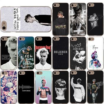 Justin Bieber Cover Case for Apple iPhone X 8 7 6 6S Plus 5 5S SE
