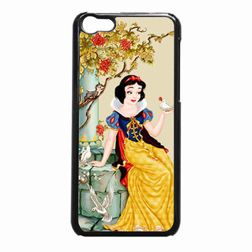 Snow White with Birds f98fdc39-23bf-49d1-a764-b2bddbb9c626 FOR iPhone 5C CASE *NP*