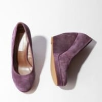 UrbanOutfitters.com > Cooperative Suede Platform Wedge