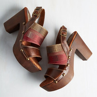 Boho Caught My Ideal Heel