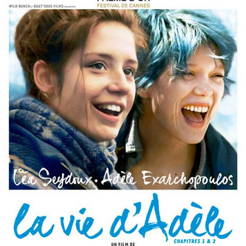 Blue is the Warmest Color (French) 11x17 Movie Poster (2013)