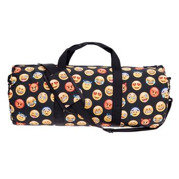 Emoji Faces Gym Duffle Bag