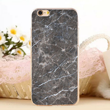 Creation Marble Stone Antiskid Protect iPhone 5s 6 6s Plus Case + Gift Box-131