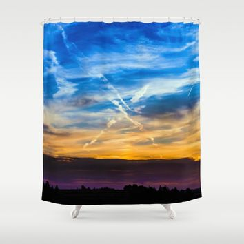 Going Through Changes Shower Curtain by Gallery One