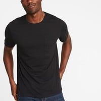 Soft-Washed Pocket Tee for Men|old-navy