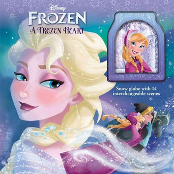 A Frozen Heart: Storybook and Snowglobe (Disney: Frozen)
