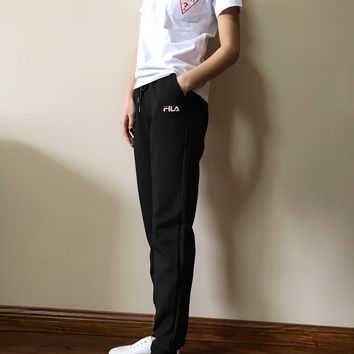 DCCK FILA 2019 spring and summer new casual sports pants fabric is cool and silky season can be worn