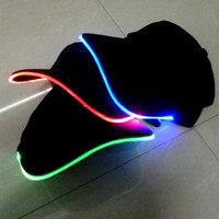 LED Light Up Glow Baseball Cap Hat