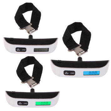 Hot Sale Digital Electronic Portable Luggage Suitcase Travel Bag Weight Hanging Scale Brand New