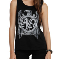 Slayer Eagle Girls Muscle Top