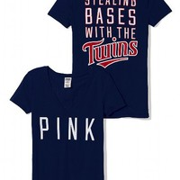 Minnesota Twins V-Neck Tee