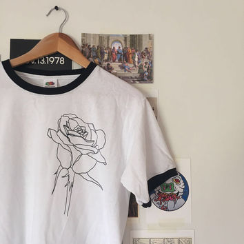 Rose Ringer T-shirt