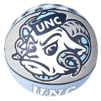 "9.5"" NORTH CAROLINA TAR HEELS REGULATION BASKETBALL"