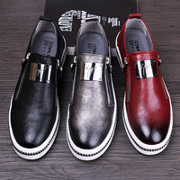 Men's Flashy Genuine Leather Dress/Casual Shoes