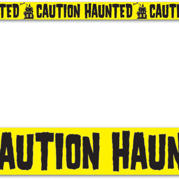 "poly material caution haunted party tape 3"" x 20' Case of 12"