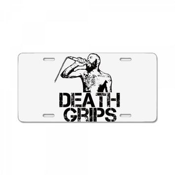 Death Grips License Plate