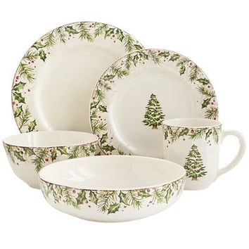 Winter's Wonder Dinnerware