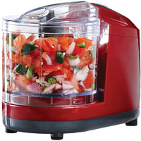 Brentwood Mini Food Chopper (red)