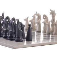 African Soapstone Chess Set - African Soapstone Chess Set