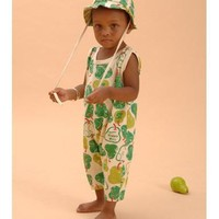 Green Pear Organic Summer Tank Romper