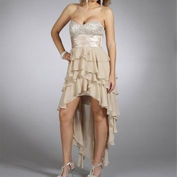 Persia- Champagne Homecoming Dresses