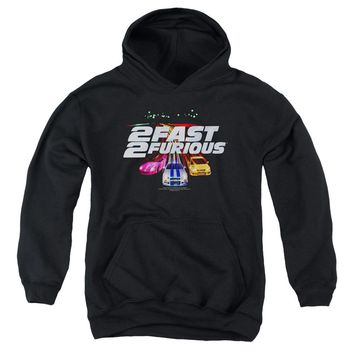 2 Fast 2 Furious - Logo Youth Pull Over Hoodie