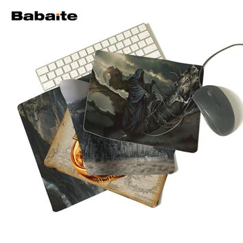 Babaite lord of the rings nazgul Hot Sale Mouse Pad Computer Gaming MousePadsWe will try our best  for you! If you have any ques