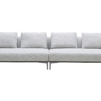 Luna Fabric Sofa By J&M
