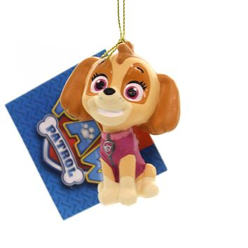 Holiday Ornaments PAW PATROL. Plastic Nickelodeon Dogs Puppies Pp1181 Skye