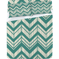 DENY Designs Home Accessories | Heather Dutton Weathered Chevron Sheet Set