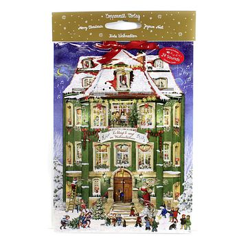 Christmas THE CHRISTMAS PARTY ADVENT Paper Calendar Musical Germany 94909