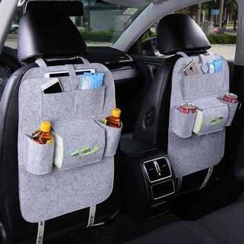 Car Back Seat Storage Organizer Trash Net Holder